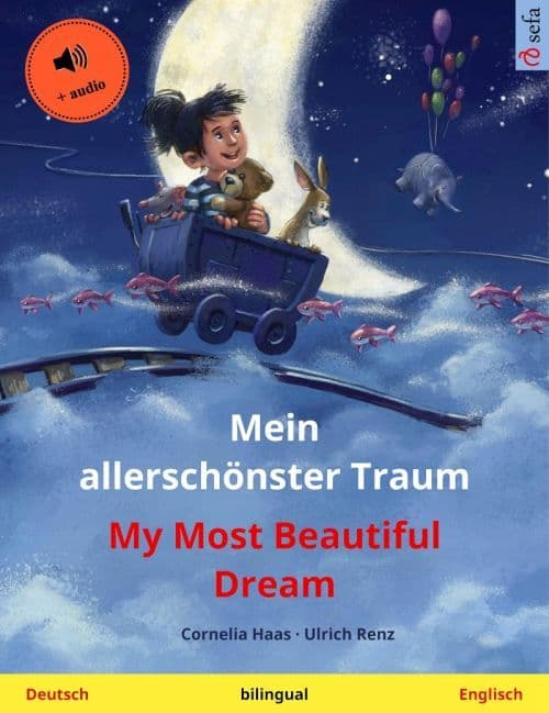 "Book cover ""My Most Beautiful Dream"""